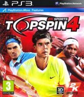Top Spin 4 c поддержкой PlayStation Move (PS3) б/у