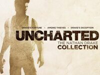 Карта с кодом загрузки игры Uncharted: The Nathan Drake Collection