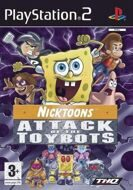 Nickelodeon: Spongebob and Friends: Attack of the Toybots (PS2) б/у